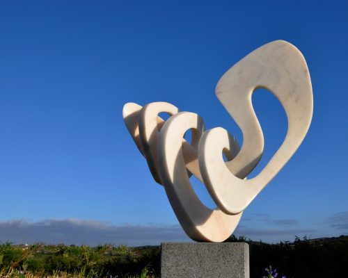 Power Knot - Sculpture by Georg Scheele