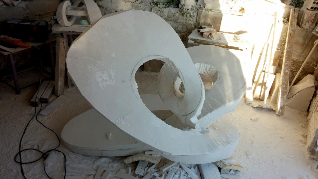 The making of a marble sculpture - 07