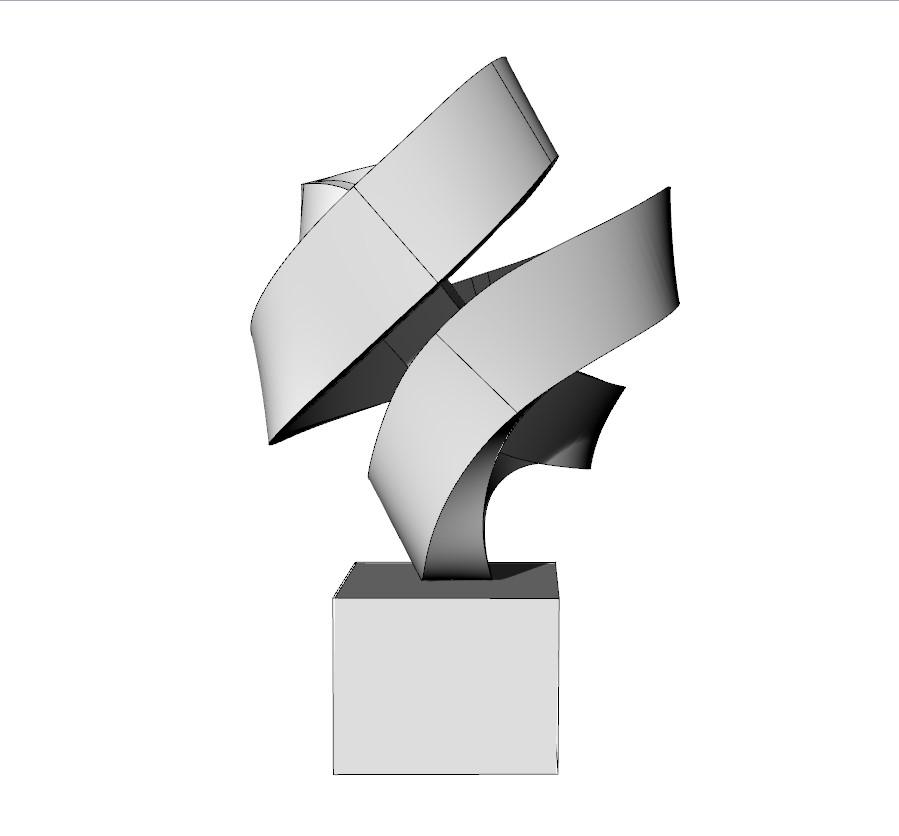 3D Drawing - sculptor - Georg Scheele