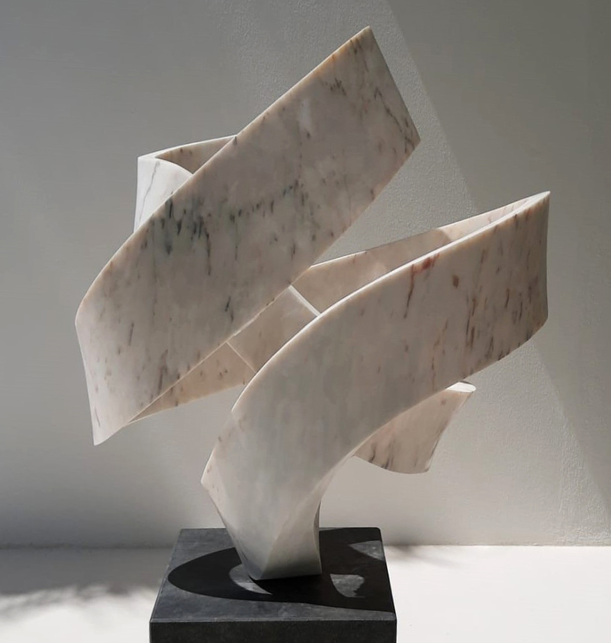 Essence of Being - Marble Sculpture - Georg Scheele